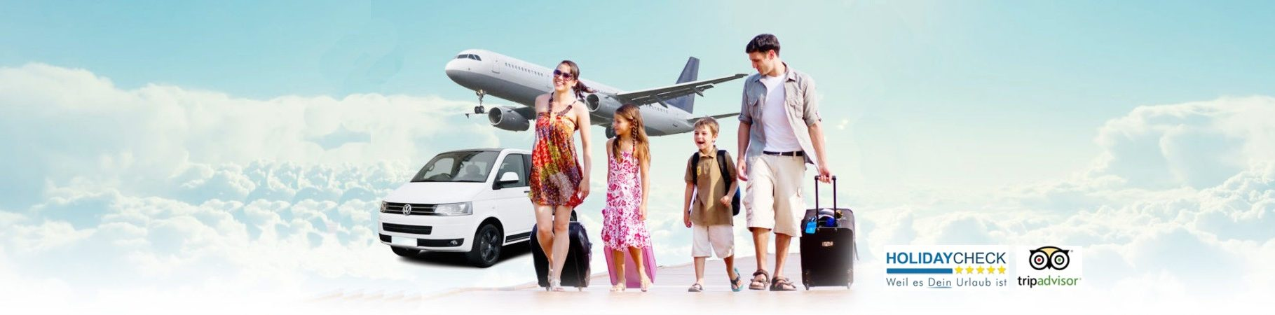 Airport transfer to Hotels